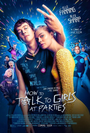 How to Talk to Girls at Parties (2017) DVD Release Date
