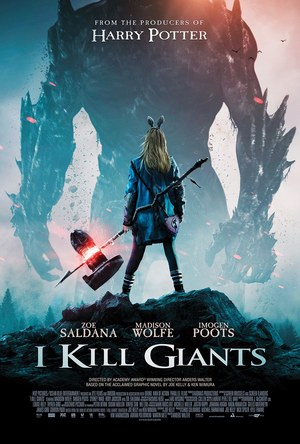 I Kill Giants (2017) DVD Release Date