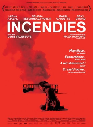 Incendies (2010) DVD Release Date