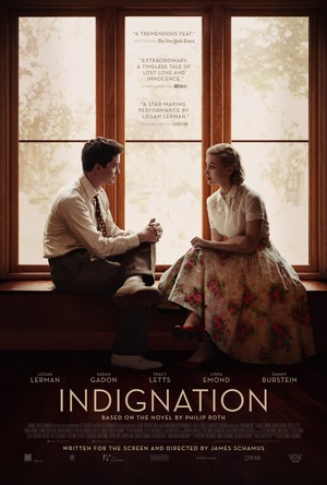 Indignation (2016) DVD Release Date