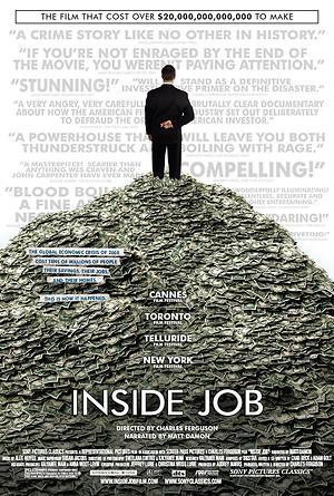Inside Job (2010) DVD Release Date