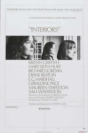 Interiors (1978) DVD Release Date