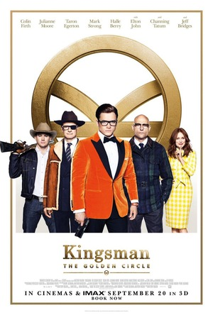 Kingsman: The Golden Circle (2017) DVD Release Date