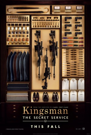 Kingsman: The Secret Service DVD Release Date