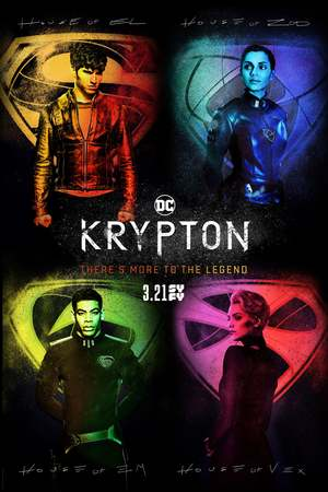 Krypton (TV Series 2018- ) DVD Release Date