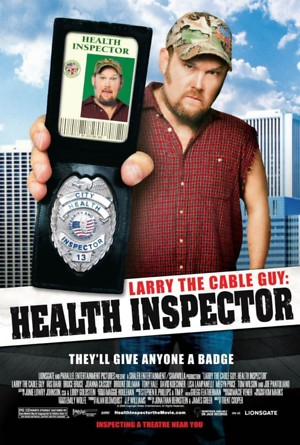 Larry the Cable Guy: Health Inspector (2006) DVD Release Date