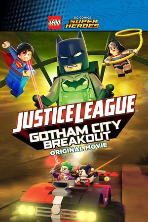 Lego DC Comics Superheroes: Justice League - Gotham City Breakout DVD Release Date