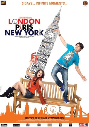 London Paris New York (2012) DVD Release Date