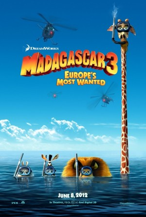 Madagascar 3: Europe's Most Wanted (2012) DVD Release Date