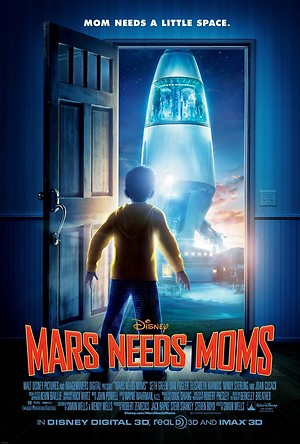 Mars Needs Moms (2011) DVD Release Date