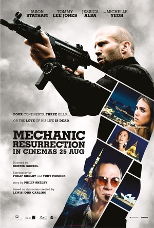Mechanic 2: Resurrection (2015) DVD Release Date