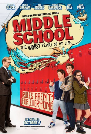 Middle School: The Worst Years of My Life (2016) DVD Release Date