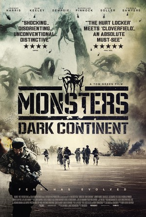 Monsters: Dark Continent (2014) DVD Release Date