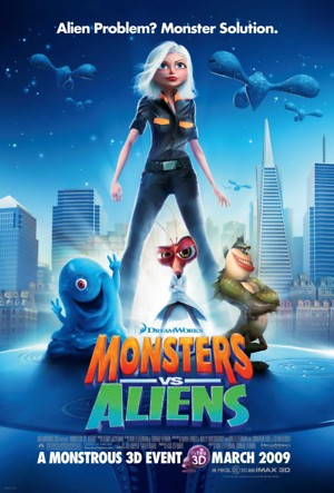 Monsters vs Aliens (2009) DVD Release Date