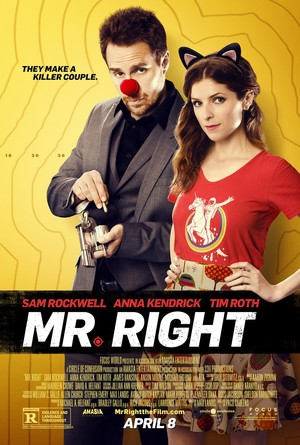Mr. Right (2015) DVD Release Date