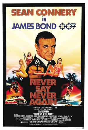 Never Say Never Again (1983) DVD Release Date