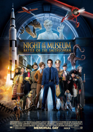 Night at the Museum: Battle of the Smithsonian (2009) DVD Release Date