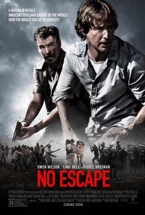 No Escape (2015) DVD Release Date