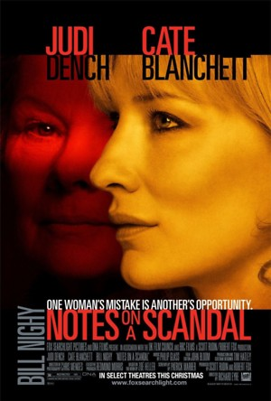 Notes on a Scandal (2006) DVD Release Date