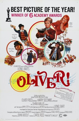 Oliver! (1968) DVD Release Date