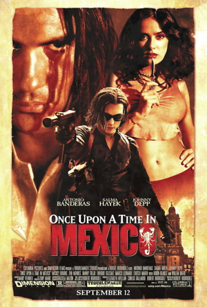 Once Upon a Time in Mexico (2003) DVD Release Date