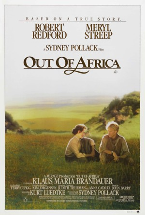 Out of Africa (1985) DVD Release Date