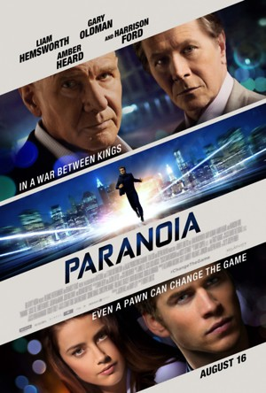 Paranoia (2013) DVD Release Date
