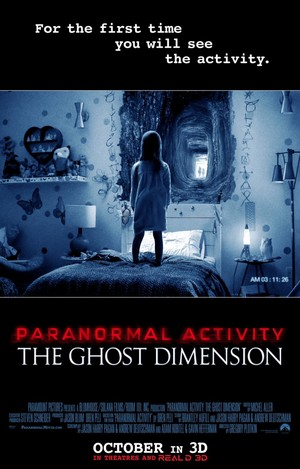 Paranormal Activity 5 The Ghost Dimension (2015) DVD Release Date