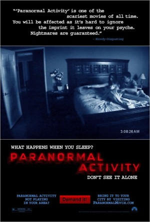 Paranormal Activity (2007) DVD Release Date