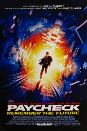 Paycheck (2003) DVD Release Date
