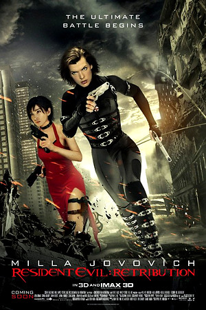 Resident Evil: Retribution (2012) DVD Release Date