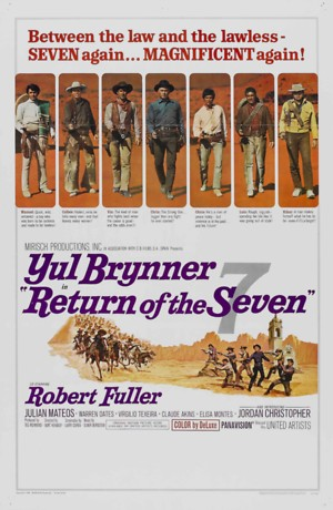 Return of the Seven (1966) DVD Release Date
