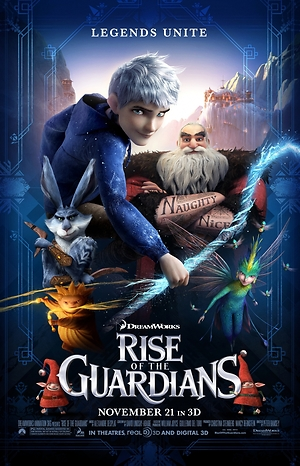 Rise of the Guardians (2012) DVD Release Date