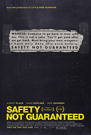 Safety Not Guaranteed (2012) DVD Release Date