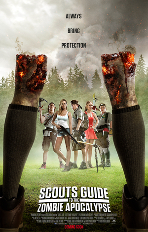 Scouts Guide to the Zombie Apocalypse (2015) DVD Release Date