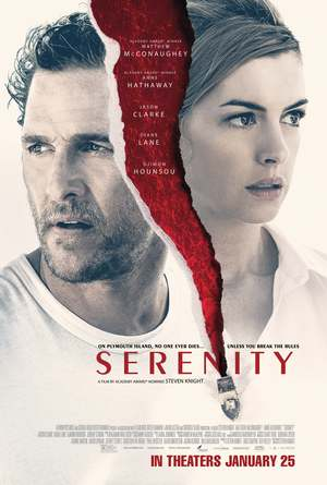 Serenity (2019) DVD Release Date