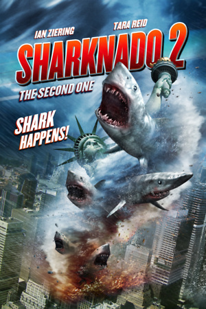 Sharknado 2: The Second One (2014) DVD Release Date
