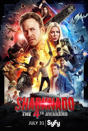 Sharknado 4: The 4th Awakens (TV Movie 2016) DVD Release Date