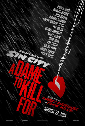 Sin City: A Dame to Kill For (2014) DVD Release Date