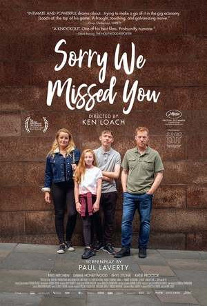 Sorry We Missed You (2019) DVD Release Date