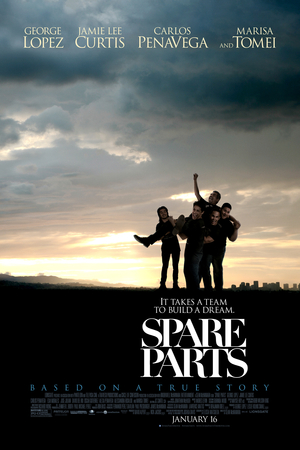 Spare Parts (2015) DVD Release Date