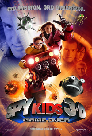 Spy Kids 3-D: Game Over (2003) DVD Release Date