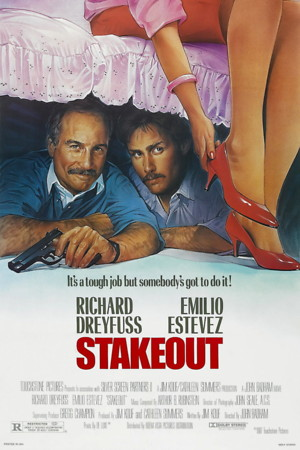 Stakeout (1987) DVD Release Date