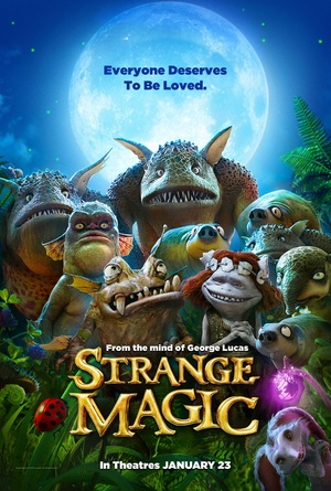 Strange Magic (2015) DVD Release Date