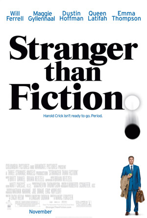 Stranger Than Fiction (2006) DVD Release Date