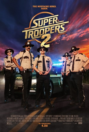 Super Troopers 2 (2018) DVD Release Date