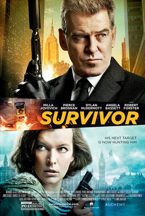 Survivor (2015) DVD Release Date