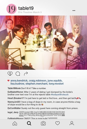 Table 19 (2017) DVD Release Date