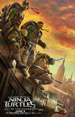 Teenage Mutant Ninja Turtles 2 Out of the Shadows (2016) DVD Release Date