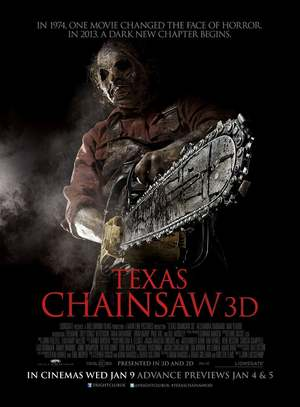 Texas Chainsaw 3D (2013) DVD Release Date